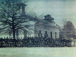 Shiloh Baptist Church Congregational Portrait Mid 1700's