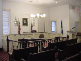 Camden County Courthouse Upstairs Courtroom