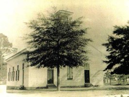 Shiloh Baptist Church Original Wooden Building 1736